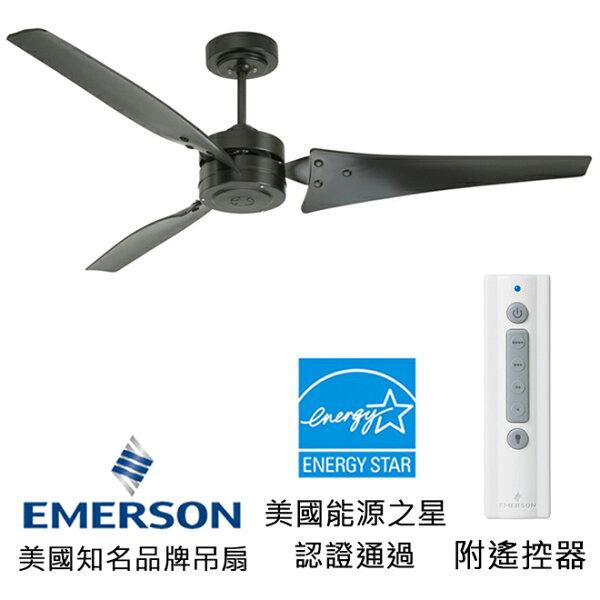 [topfan]EmersonLoft60英吋能源之星認證吊扇(CF765BQ)黑色(適用於110V電壓)