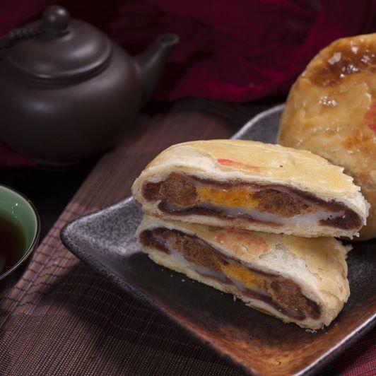 3Q餅 ~ 新研發產品 甜甜鹹鹹的,很受歡迎,成為店內另一主打商品【大新餅店】