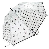 下雨天推薦雨靴/雨傘/雨衣推薦【真愛日本】18032100018  直傘-KT加ACCB 凱蒂貓 kitty 直傘 雨傘 洋傘 直立傘 雨具