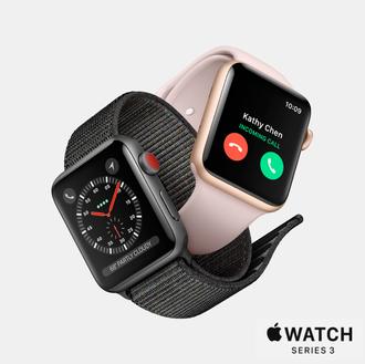 【分期零利率】AppleWatchSeries338mm鋁合金錶殼搭配運動錶帶台灣公司貨