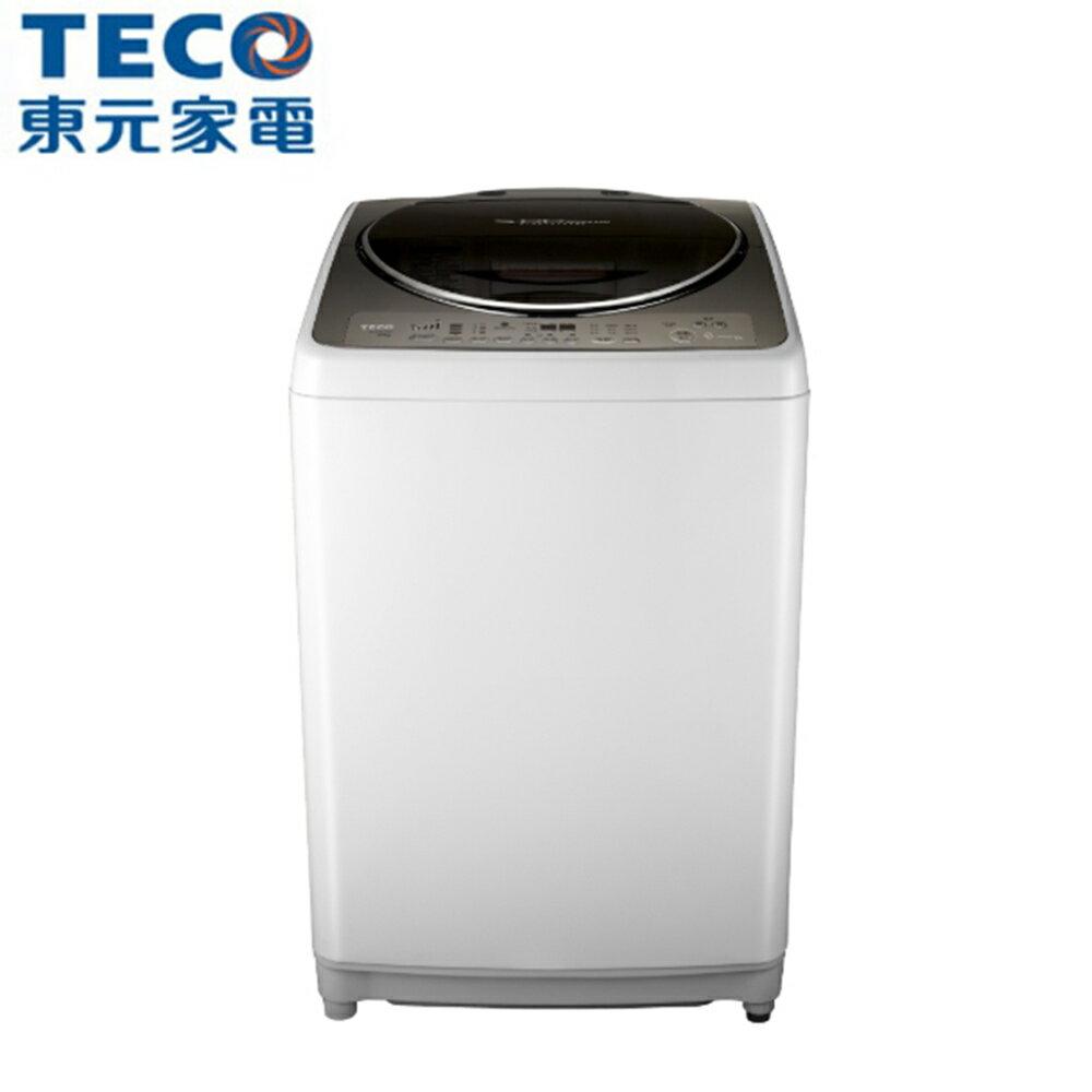 【TECO東元】16公斤變頻洗衣機W1698TXW【三井3C】