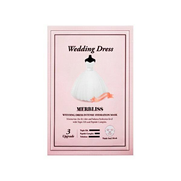 韓國 MERBLISS 婚紗面膜25g(單片入)【小三美日】安宰賢代言◢D535325