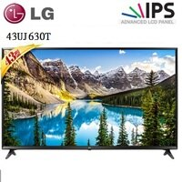 LG電子到LG 43型 4K UHD連網液晶電視 43UJ630T