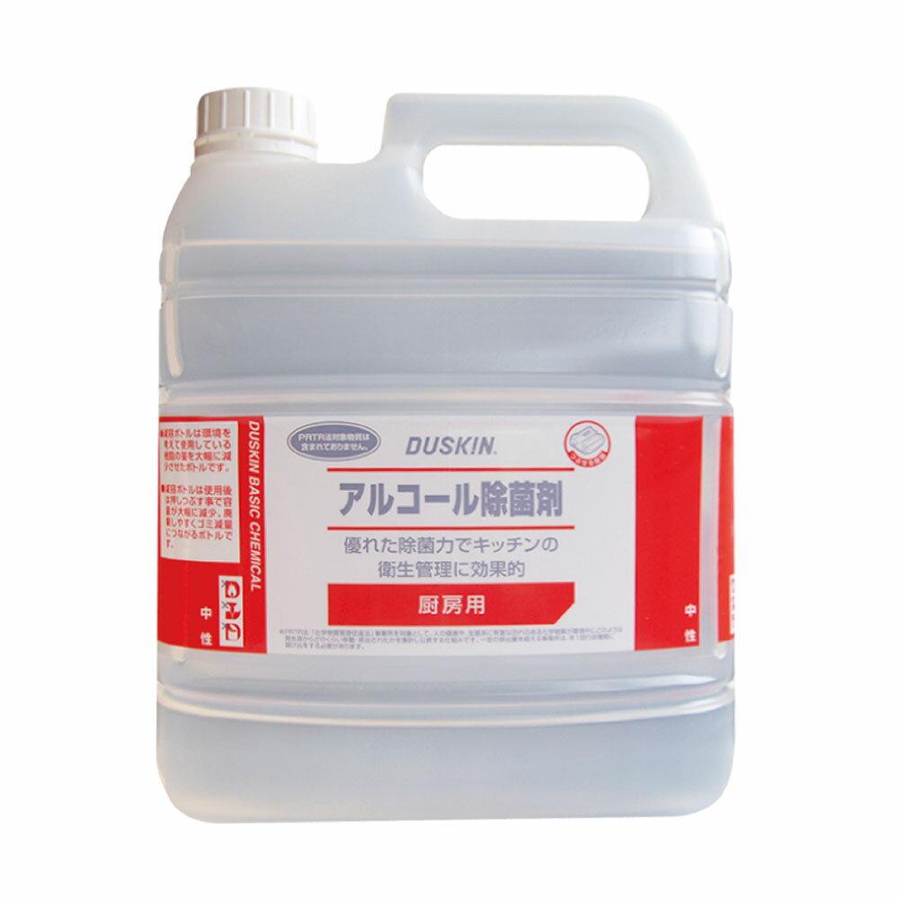 DUSKIN 酒精噴霧4L 日本原裝釀造用酒精安心使用 居家防疫必備 1