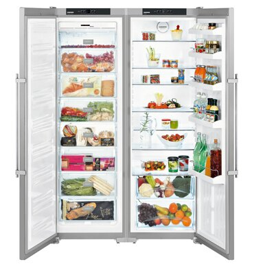 嘉儀德國 LIEBHERR 利勃 SBSesf7212 獨立式雙門對開冰箱(652公升)【零利率】※熱線07-7428010