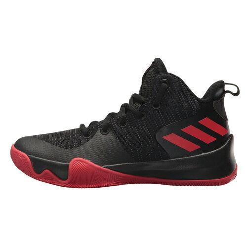 AdidasEXPLOSIVEFLASH女鞋大童籃球止滑耐磨黑紅【運動世界】AQ0525