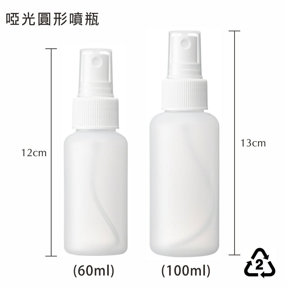 HDPE啞光 2號分裝噴瓶 可裝酒精 消毒水 化妝水噴霧空瓶