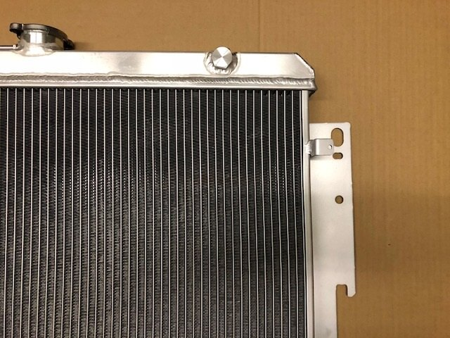 OEM# 52029116 All Aluminum Radiator for Dodge Ram 2500 Van 1999-2003 All  Engine