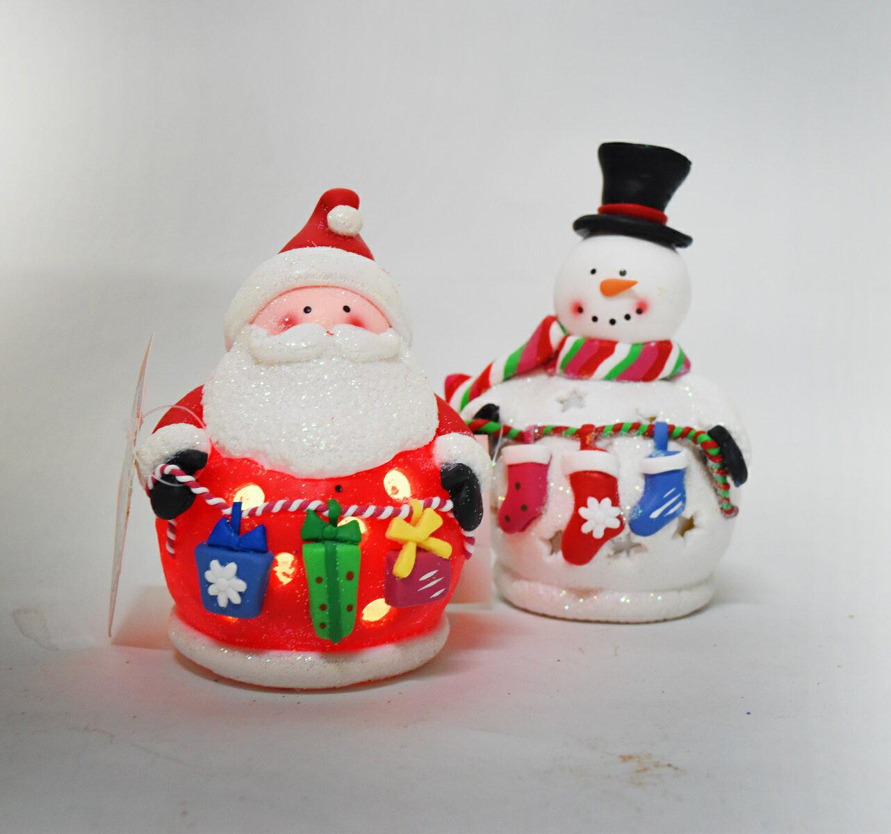 X射線【X389122】5吋LED聖誕造型玩偶擺飾,聖誕節/聖誕樹/聖誕佈置/聖誕掛飾/裝飾/掛飾/會場佈置/DIY/材料包