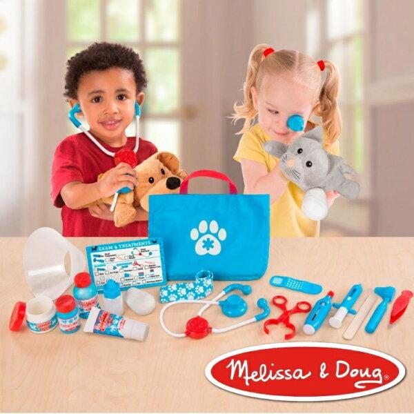 美國瑪莉莎Melissa&Doug角色扮演-寵物診所治療遊戲組【寶貝樂園】