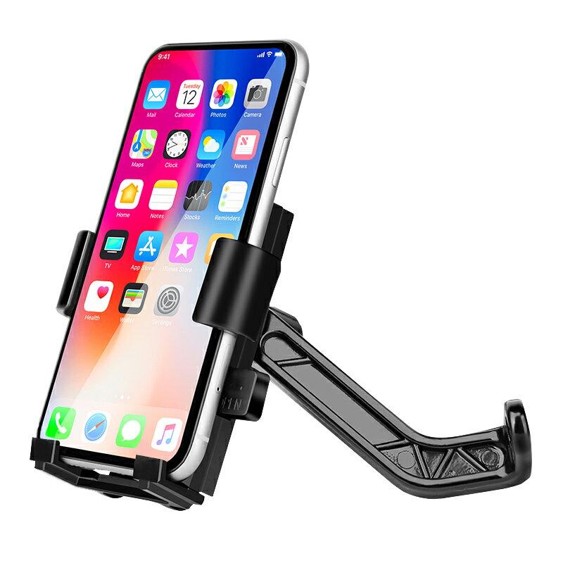 機車手機支架 電動車手機架摩托電瓶車外賣騎手導航手機支架車載自行車騎行裝備『CM41949』