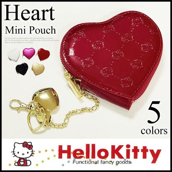 Hello Kitty 新品凱蒂貓愛心零錢包/收納包 該該貝比日本精品
