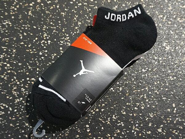 NIKE 耐吉JORDAN JUMPMAN NO~SHOW 3PPK 款3包裝襪 SX55