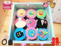 分享幸福的婚禮小物推薦喜糖_餅乾_伴手禮_糕點推薦婚禮造型杯子蛋糕