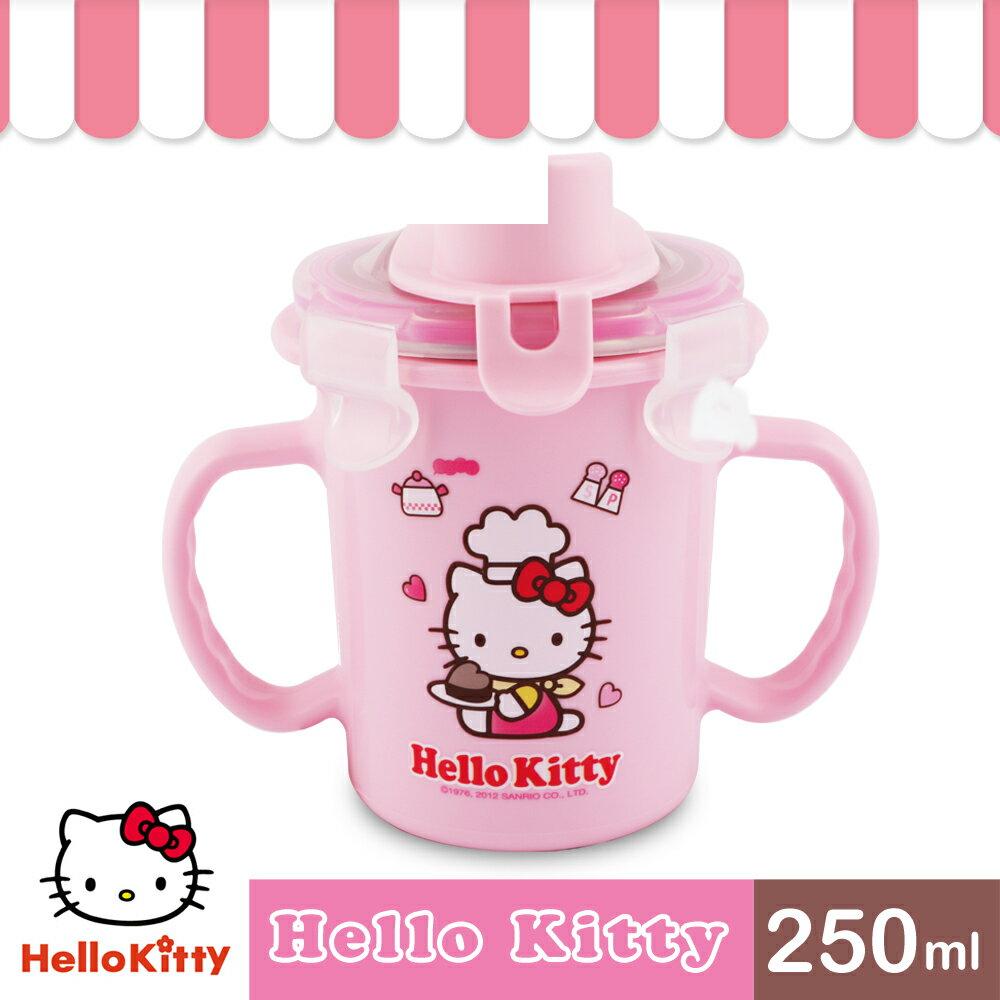 【樂扣樂扣】HELLO KITTY 不鏽鋼吸管水杯 / 250ML 0