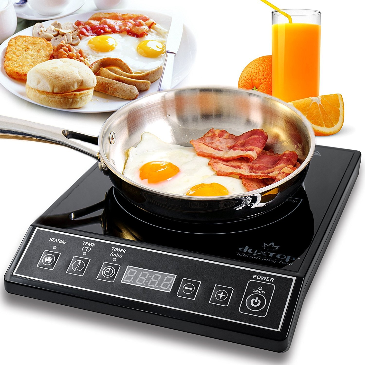 Secura 9100mc 1800w Portable Induction Cooktop Countertop Burner Black 0