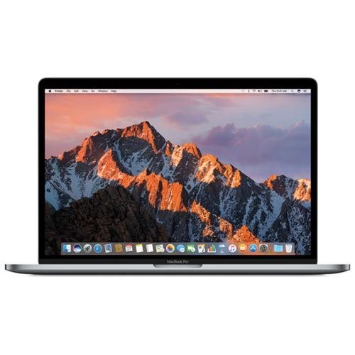 "Apple MacBook Pro MPTT2LL/A 15.4"" LCD Notebook - Intel Core i7 (7th Gen) Quad-core (4 Core) 2.90 GHz - 16 GB LPDDR3 - 512 GB SSD - Mac OS Sierra - 2880 x 1800 - In-plane Switching (IPS) Technology, Retina Display - Space Gray - AMD Radeon Pro 560 with 4 G"