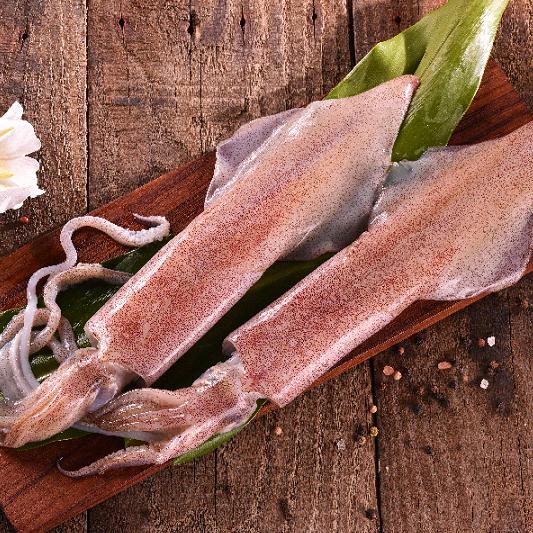 【四季肉舖】印尼船釣活凍透抽 320g / 包 0