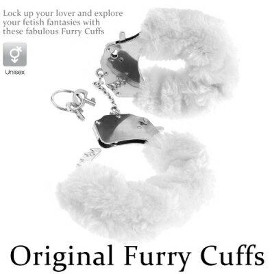 ■■iMake曖昧客■■Original Furry Cuffs金屬絨毛手銬-白 (188560058)
