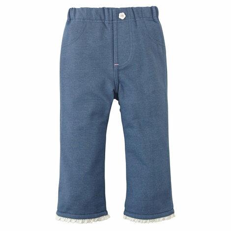 【NISSEN】童裝 輕柔絎縫長袖內衣 0