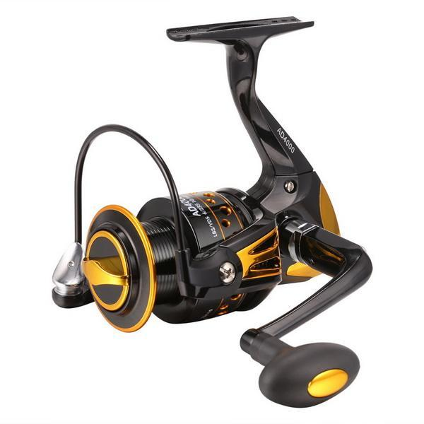 Fishing Reel Interchangeable Collapsible Handle Spinning 1