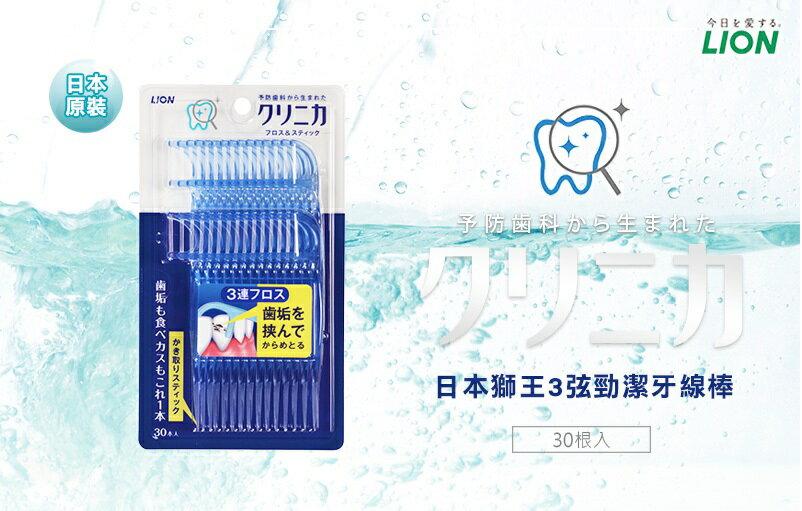 【獅王】3弦淨潔牙線棒 1