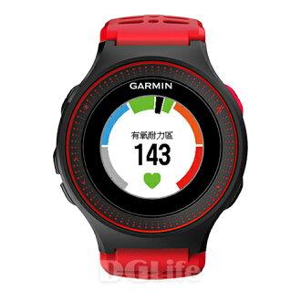 GARMIN 腕式心率跑錶 Forerunner 225 脈動紅