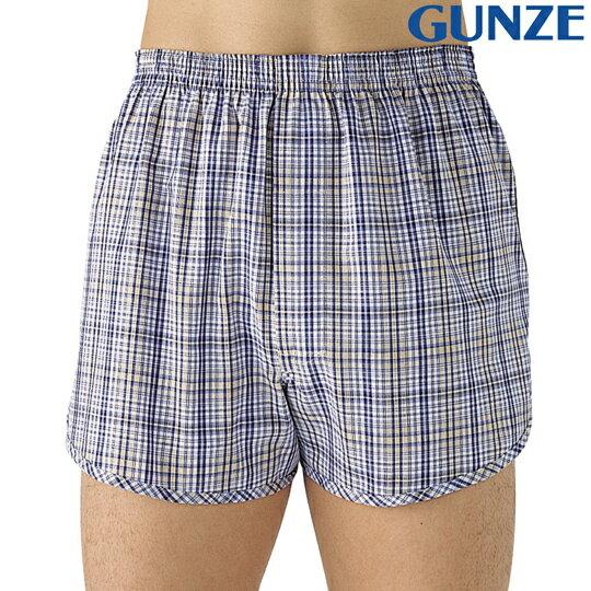 【Gunze郡是】日本原裝進口 快適工房男士四角褲