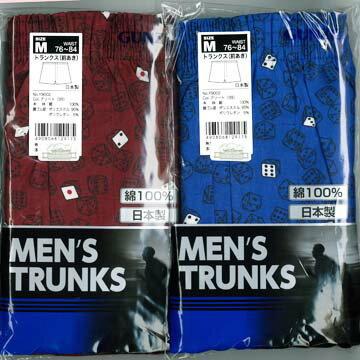 【Gunze日本郡是】純綿日本製 兩件組平口花褲 M~LL(Y9002)