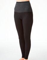 保暖服飾推薦【Gunze郡是】日本原裝進口發熱衣女生 長褲 黑