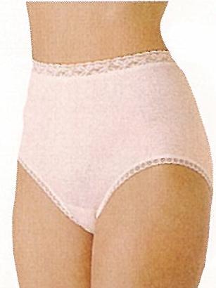 【Gunze郡是】原裝進口100%純綿 高腰內褲 白.粉LL