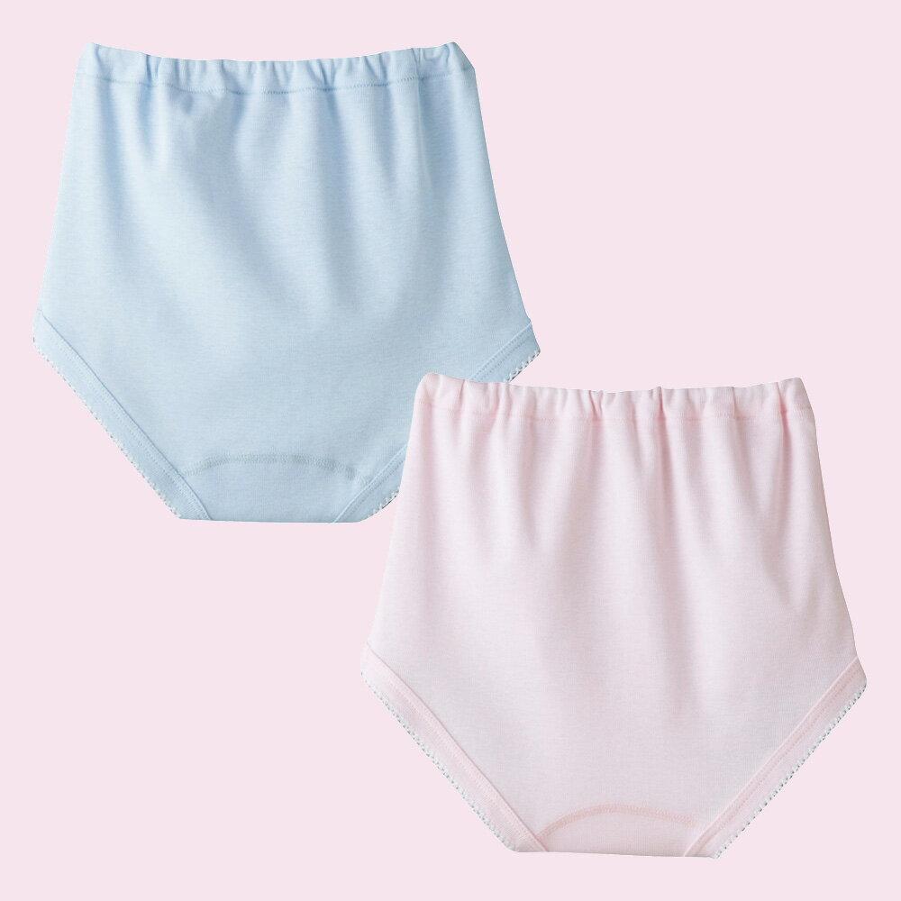 【Gunze郡是】100%棉 女童三角褲100~160公分(2件組) 1