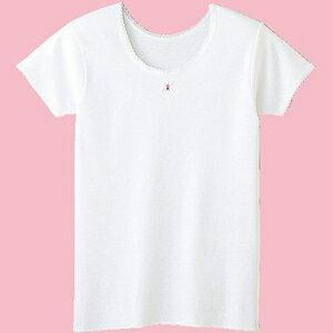 【Gunze郡是】原裝進口-兒童純棉100%內衣褲-背心/短袖/內褲(100cm~160cm)女童短袖