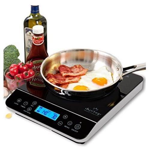 Duxtop LCD 1800-Watt Portable Induction Cooktop Countertop Burner 9600LS 644ce729c03d9c921a3e97012f10ecbf