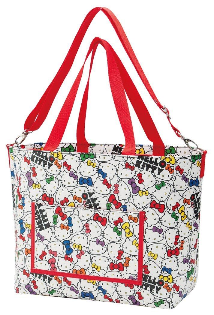 <br/><br/>  X射線【C253324】Hello Kitty 不織布媽媽袋-臉,收納包/文具包/隨身包/手提包/零錢包/交換禮物/禮品<br/><br/>