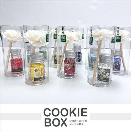 泰國天然精油舒緩擴香瓶5ml迷你花朵造型*餅乾盒子*