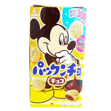 [敵富朗超市]森永製果 迪士尼巧克力餅乾(賞味期限2018.10.31)