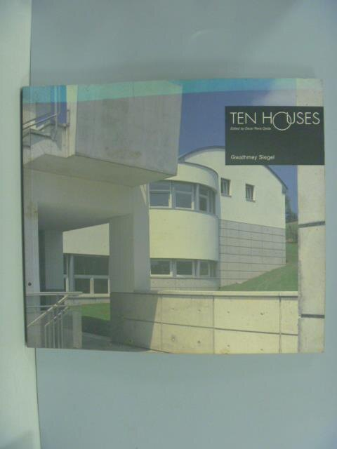 ~書寶 書T8/建築_ZBM~Ten houses_edited by Oscar Rie