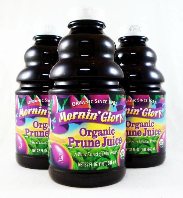 Mornin`Glory有機黑梅汁946ml*3瓶