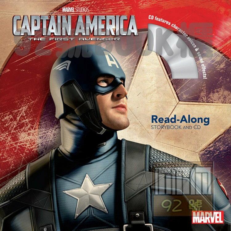 Captain America: The First Avenger 美國隊長  CD有聲