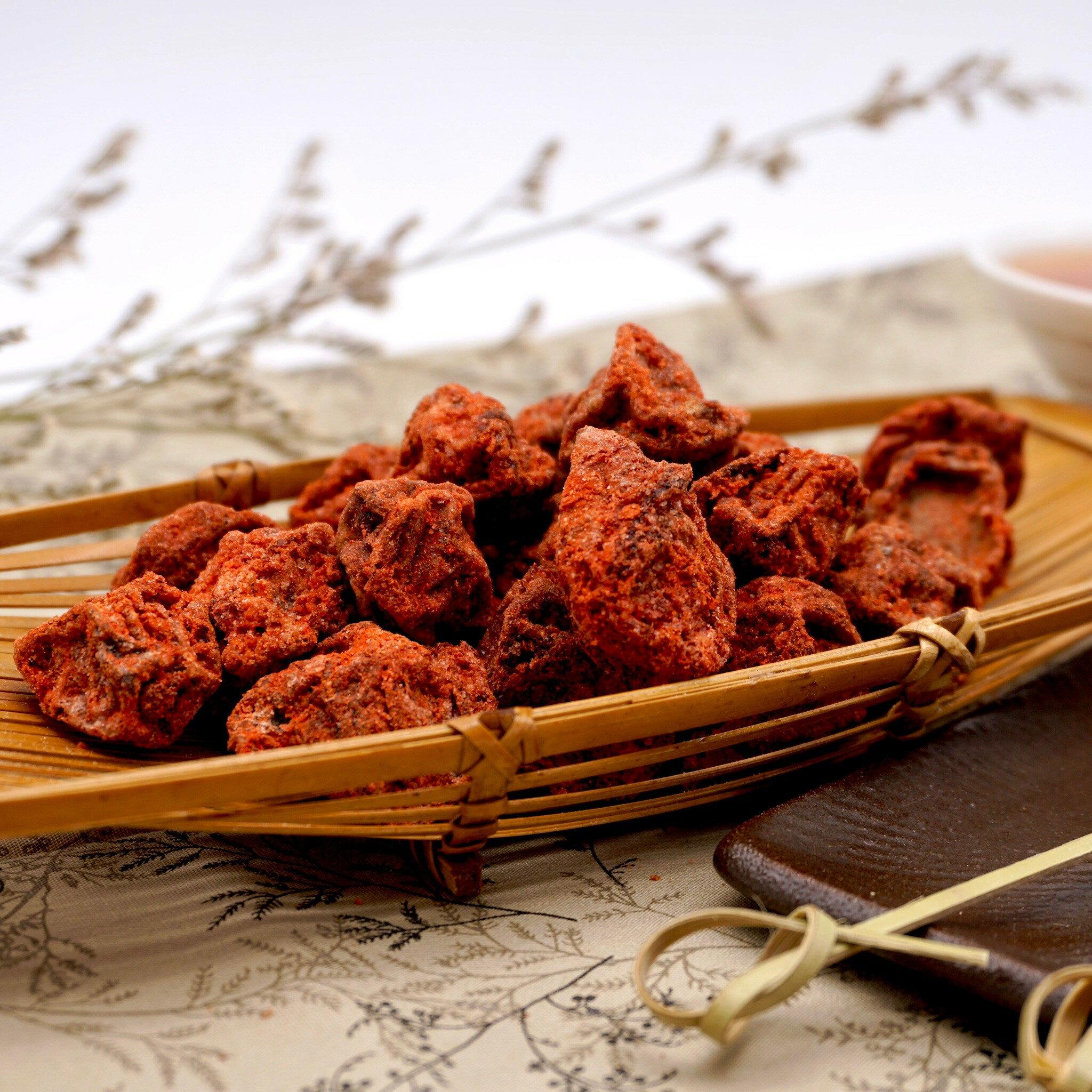 嘴甜甜 紅話梅 200公克 蜜餞系列 白話梅 泡茶 梅子 調理話梅 蜜餞 果乾 古早味零食 台灣蜜餞 青梅 黃梅 素食 現貨
