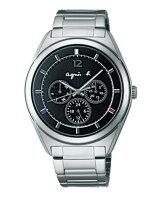 agnès b.包包推薦到agnes b. Solar 太陽能日曆腕錶(BT5009P1)V14J-0CG0D/40mm黑就在名品鐘錶城推薦agnès b.包包