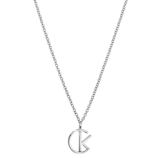【錶飾精品】CK飾品 KJ6DMP000100-ck logo女性項鍊 短練316L白鋼全新原廠正品 生日情人節禮物