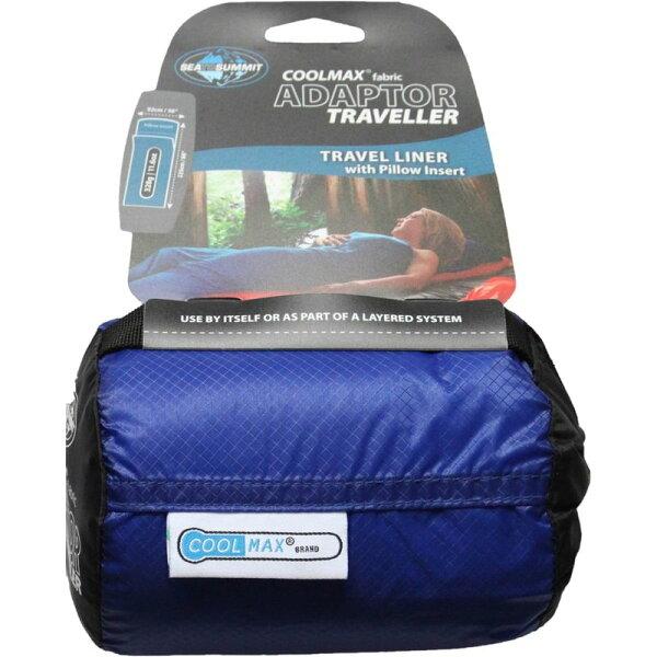 ├登山樂┤澳洲SeaToSummitCoolmax睡袋內套(可置入枕頭)藍色#STSACMAXYHA