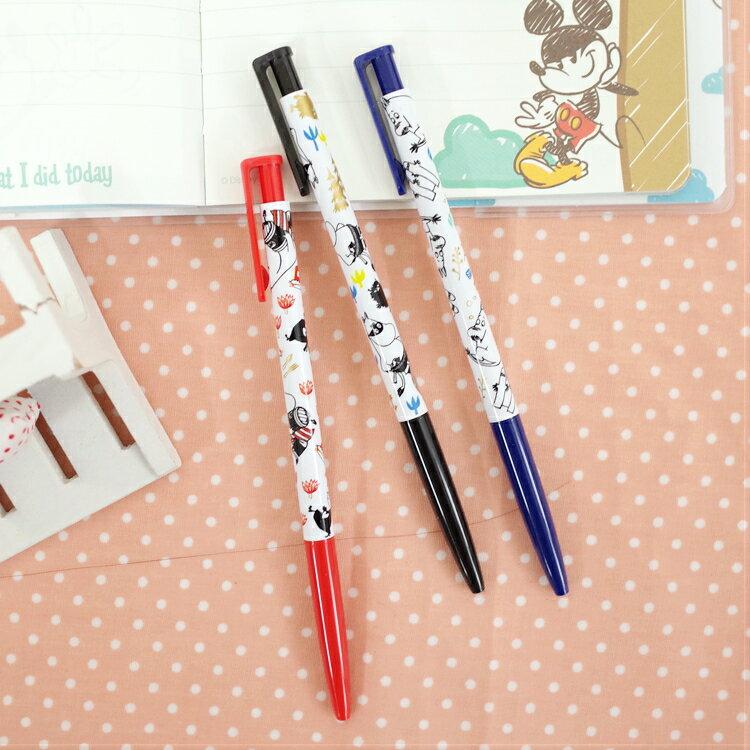 PGS7 日本卡通系列商品 - 日本 嚕嚕米 Moomins 中性筆 原子筆 三色可選【SHA7153】