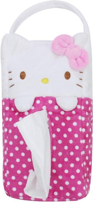 X射線【C528058】kitty掛式面紙套,面紙袋/面紙盒/車用/辦公桌/餐巾紙
