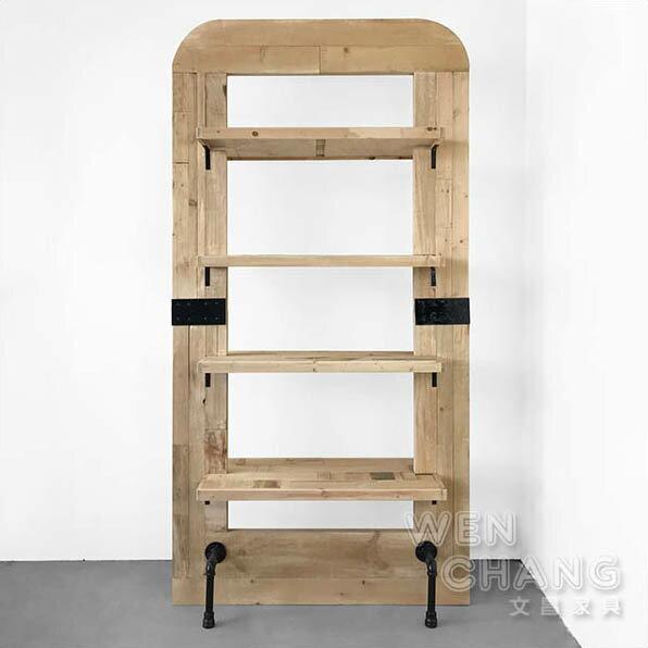 訂製品工業風集層材屏風櫃商品層架裝飾櫃大款CU042L*文昌家具*