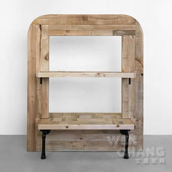 訂製品工業風集層材屏風櫃商品層架裝飾櫃小款CU042S*文昌家具*