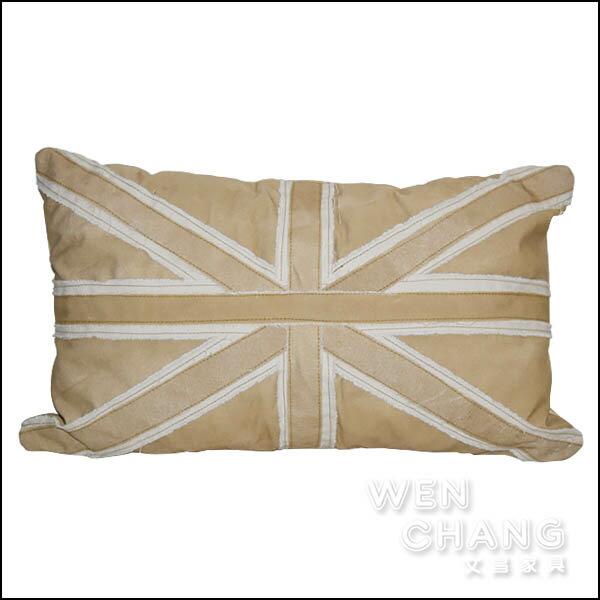 英倫復古 英國國旗抱枕 靠枕 HA013-1 *文昌家具*