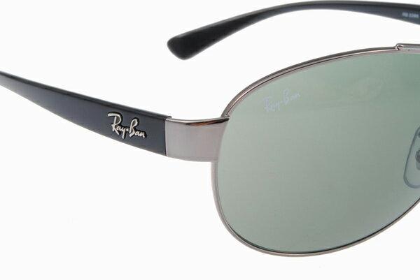 Ray Ban 雷朋 銀墨綠 太陽眼鏡 RB3386 5